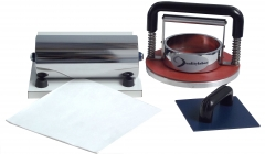Cobb tester, modelo cobb.  equipamento cobb tester é utilizado para medir a absorção de água no papel. atende normas técnicas: abnt nbr nm-iso 535 · tappi t-441