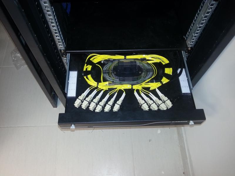Montagens de DIO para Fibra Opticas
