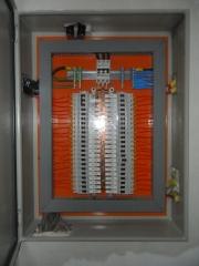 Montagem de quadro eletrico clinica oftalmolaser