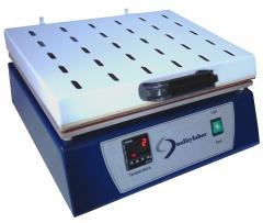 Secador de folhas, modelo sec, o secador de folhas qualitylabor foi desenvolvido para se obter a secagem das folhas de celulose e papel formadas em laboratório.