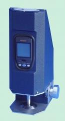 Medidor de espessura para plásticos, modelo mep/q, equipamento utilizado para determinar a espessura exata de filmes plásticos. atende normas técnicas: astm d374 e d2103