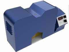 ONDULADOR CONCORA, modelo OCQ/1000, Equipamento desenvolvido para preparação de amostras de papelão ondulado (miolo) para testes de CMT e CCT.  Avaliação do quanto de força é necessário para deformar 10 ondulações padrão do papel que será usado como miolo. Este ensaio determina a resistência do ondulado que será usado na confecção de caixas. Atende Normas Técnicas: ABNT NBR 9159, ISO 7263, TAPPI T 809.