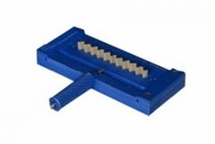 Dispositivo compressÃo de onda, para determinar a contribuição da onda na resistência da coluna. segundo tappi t-824, tappi t-843, abnt nbr 15231.