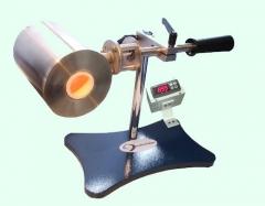 Incinerador mod.: incin, equipamento para determinação do teor de resíduos (cinzas), é o método utilizado para a medição da carga mineral em cartões e papéis. acompanha controlador de temperatura.