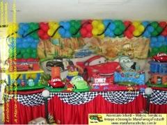 Tema carros (mcqueen) - decora��o infantil - maria-fuma�a-festas sua decora��o tem�tica com o tema
