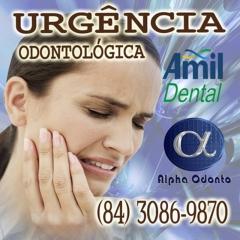 Urg�ncia odontol�gica - amil dental natal - (84) 3086-9870
