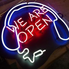 Headphone neon - by superneon
