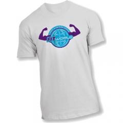 Camiseta personalizada, malha pet