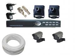 Kit de cameras completo apenas 839,90