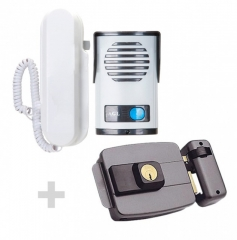 Kit de interfone+ fechadura eletrica 279,90