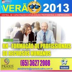 Rh formação profissional de recursos humanos