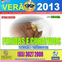 Feridas e curativos, t�cnicas e tratamentos