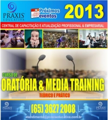 Oratória & media training