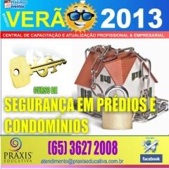 Curso de segurança em prédios e condomínios