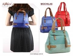 Mochilas femininas = www.kabupy.com.br