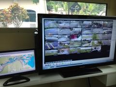 Imagens em software bisaco de monitoramento