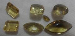 Lote de cristal green gold extra