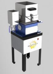 Depurador somerville  linha celulose  equipamento para a separação de impurezas de pasta celulósica e fibras recicladas para fins de avaliação; fornecido com uma tela depuradora de 0,15 mm., sendo base da tela em latão e tela em aço inoxidável; estrutura em perfis de aço carbono; pintura eletrostática em epóxi; pés niveladores; requer rede elétrica: 220 v. monofásica, 350 w.; água e saída de esgoto; fabricado conforme norma técnica tappi t 275 * para outras medidas de telas sob consulta.