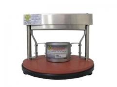 Cobb tester completo (diâmetro 50 cm²)  linha papel  equipamento para teste de absorção de água em papéis, cartões e papelão ondulado. área de ensaio de 50 cm²; construído conforme norma técnica abnt nbr nm iso 535 acessórios inclusos: chapa de formato 12,5 x 12,5 cm.; rolo condicionador de amostras (10 kg.) descanso para rolo condicionador becker em polipropileno (100 ml) calibrado contra padrão rastreável à rbc (rede brasileira de calibração); acompanha certificado de calibração e rastreabilidade. fabricante: mecatécnica/brasil