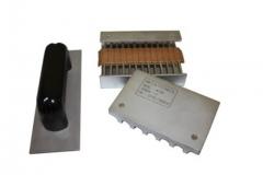 Dispositivo de adesÃo de camadas  linha embalagem  determina a colagem entre capas e ondas. fabricado conforme norma técnica: tappi t-821 e abnt nbr 14972
