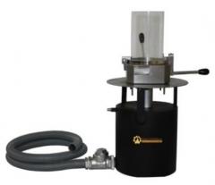 Formador de consistÊncia de alvura  linha celulose  equipamento para a determinação de consistência e alvura. diâmetro de formação da folha cm2. construído em aço inox. acessórios opcionais; bomba de vácuo para remoção do excesso de água na amostra formada.