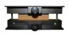 Dispositivo de compressÃo de coluna  linha embalagem  determina a resistência do papelão ondulado no sentido vertical, permitindo determinar o empilhamento máximo de caixas de papelão ondulado. fabricado conforme norma técnica: abnt nbr 6737