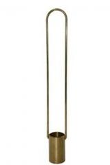 Viscosímetro zahn para medições conforme astm d4212.