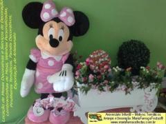 Tema Minnie Rosa - Decoração Infantil Maria-Fumaça-Festas - Sua festa temática com o tema