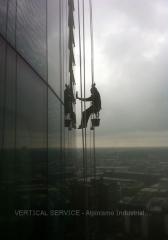 Limpeza de vidros