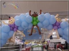 Arco de balões chá de bebê