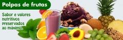 Polpas e frutas congeladas