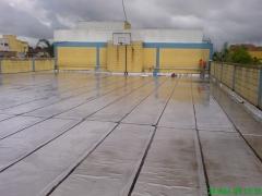 Impermeabilização com manta aluminizada - impresol serviços tecnicos