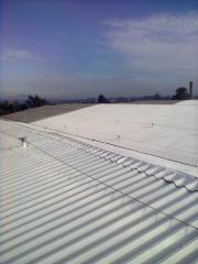 Pintura termica - telhado branco - creditos carbono ligue para  impresol serviços tecnicos de isolamento