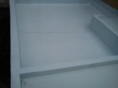 Poliureia - impermeabilização de terraço para transito de pessoas, dispensa a execução de piso. impresol serviços tecnicos de isolamentos