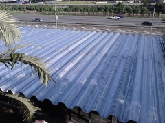 Impermeabilização de telhado industrial com manta aluminizada - impresol serviços tecnicos de isolamento -