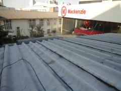 Impermeabilização do telhado da universidade mackenzie de são paulo