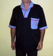 Uniforme de limpeza em tecido oxford