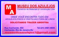 Panfleto do museu dos azulejos