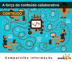 A força do do Conteúdo colaborativo