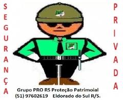 Segurança  grupo pro rs   proteção patrimonial.