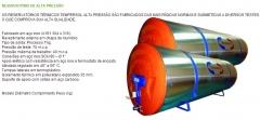 Reservatório térmico solar alta pressão