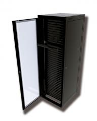 Rack torre - disponíveis nas versões com e sem guia vertical e também na versão plus, com guias internas montadas com fingers, os racks da linha torre da multiway rack atendem as necessidades das mais diferentes instalações.