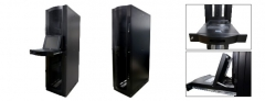 It server rack - rack com design abaulado e com gaveta tft