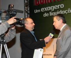 Reportagem com paulo henrique amorim: evento liquida curitiba