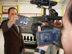 Gravação do programa motor tv - sbt