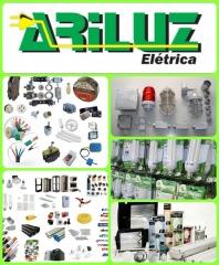 Ariluz material  elétrica - uniaodemarcas ariluz elétrica há vinte anos a ariluz elétrica tem como base oferecer os melhores preços para nossos clientes, sempre se preocupando com a qualidade dos produtos e atendimentos, nossos vendedores são treinados para orientar na escolha dos produtos mais adequados às suas necessidades. trabalhamos com toda linha de fios e cabos elétricos, disjuntores, reatores, lâmpadas compacta, lâmpadas de led, interruptores de teto e parede, spots refletores, plugues, teflon, ventiladores. etc.. aceitamos todos os cartões de créditos. aguardamos sua visita.  tel. 73 3634 6689  /  9981 6689 resp. edson almeida e-mail: sinho_almeidayhoo.com.br - visite nossa página.