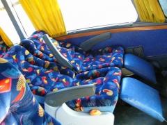 Veículos confortáveis para transporte turístico