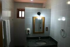 Banheiro da Pousada