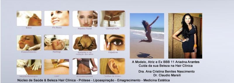 Hair Clinica Mega Hair com tratamento de saúde e beleza
