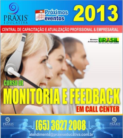 Monitoria e Feedback em Call Center